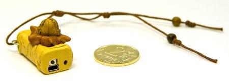 Диктофон из кожи EDIC-mini Tiny A31S